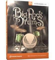 Toontrack - EZX Big Rock Drums - Expansion Pack For EZdrummer (DOWNLOAD)