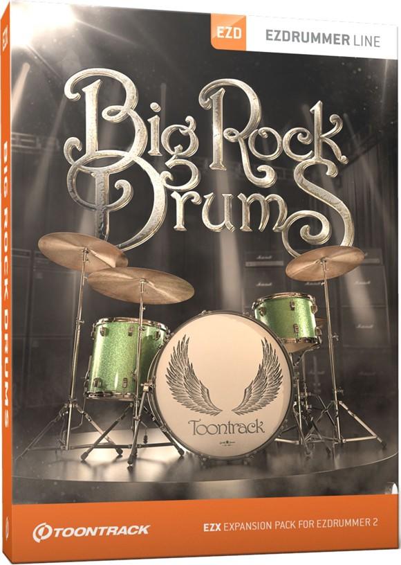 Toontrack - EZX Big Rock Drums - Expansion Pack For EZdrummer (DOWNLOAD)