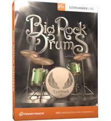 Toontrack - EZX Big Rock Drums - Udvidelses Pakke Til EZdrummer (DOWNLOAD)