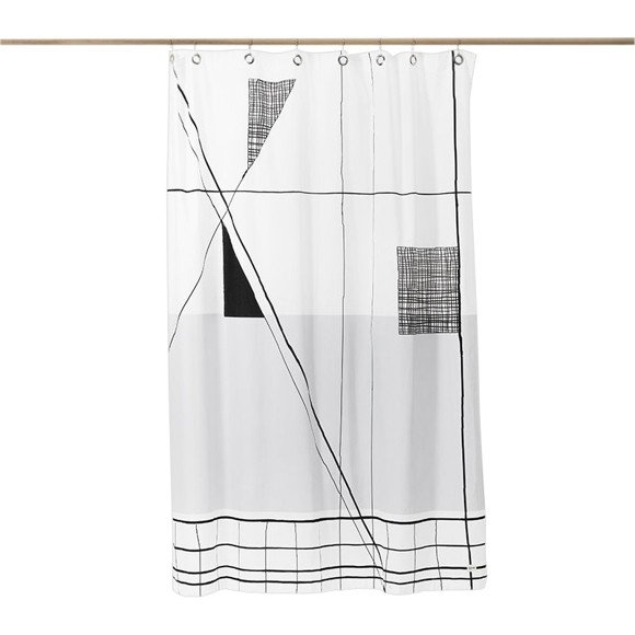 Ferm Living - Trace Shower Curtain (9191)