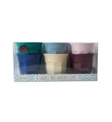 Rice - Melamine Cups 6 Pcs Small - Urban Colors