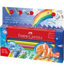 Faber-Castell - Jumbo GRIP set - Underwater World (110908)