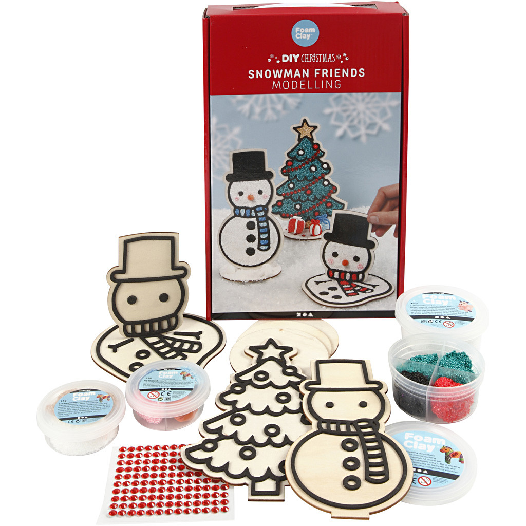 DIY Kit - Winter  Modellieren