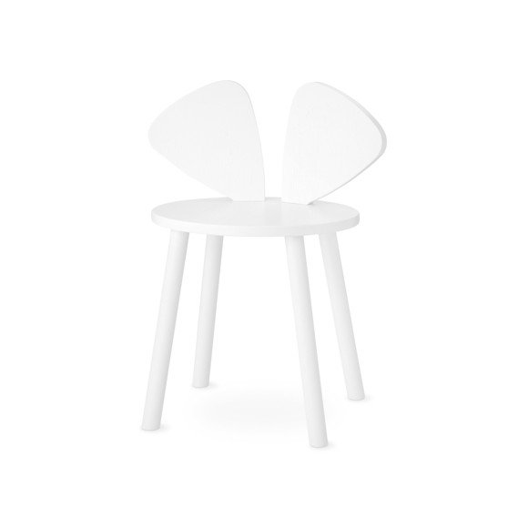 Nofred - Mouse Chair School - White