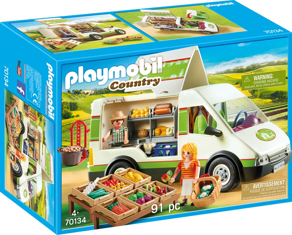 Playmobil - Mobile Farm Market (70134)