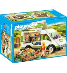 Playmobil - Mobilt gårdmarked (70134)
