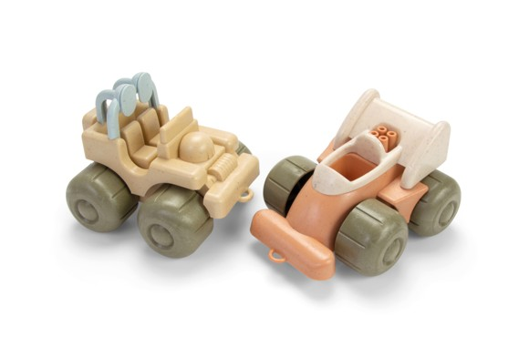 Dantoy - BIOPlast - Vehicles - Jeep & Race Car (5625A)