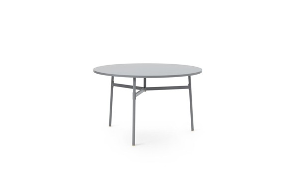 Normann Copenhagen - Union Table Ø120 cm - Grey (1401181)