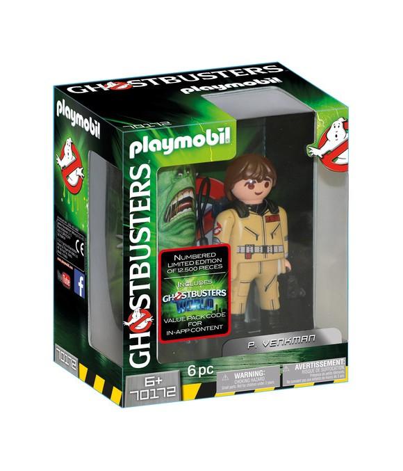 Playmobil - Ghostbusters - Collection Figure P. Venkman, 15 cm (70172)