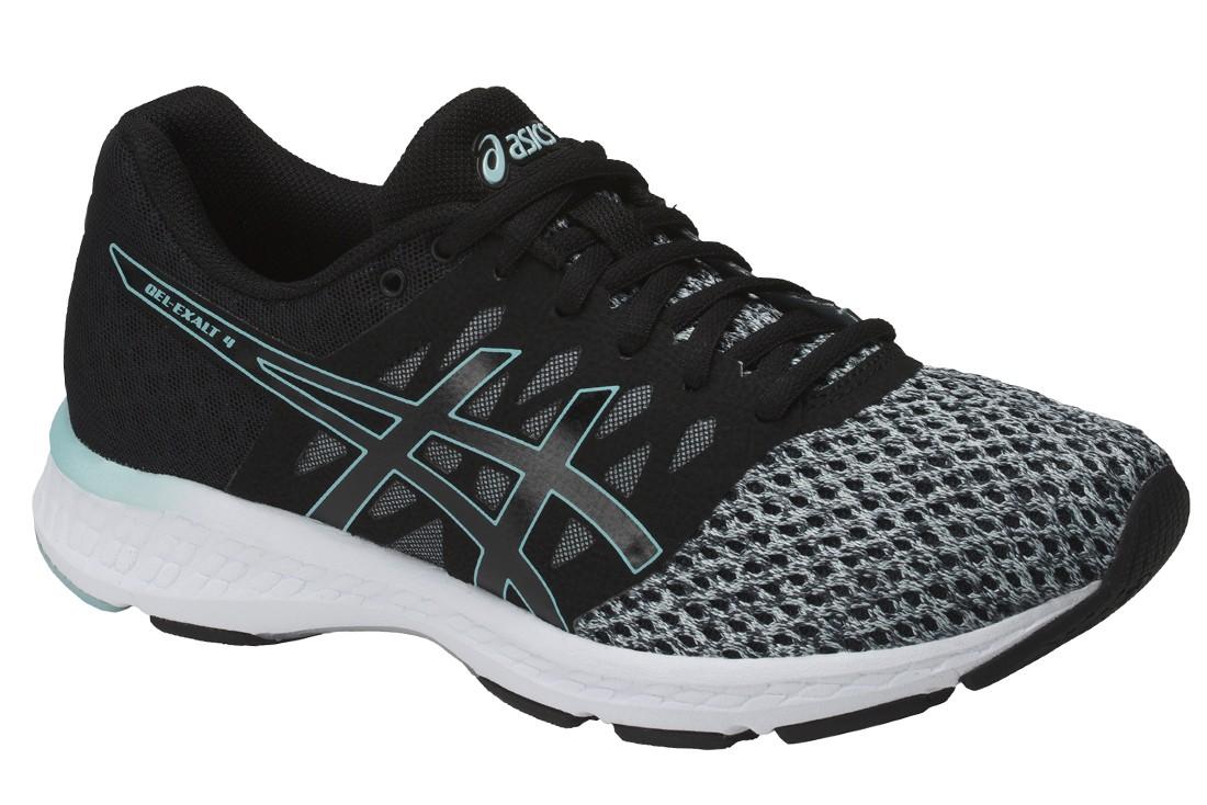 Buy Asics Gel Exalt 4 T7E5N-9095, Womens, Black, running shoes