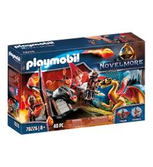 Playmobil - Burnham Raiders Dragetræning (70226)
