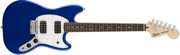 Squier By Fender - Bullet Mustang HH - Elektrisk Guitar (Imperial Blue)