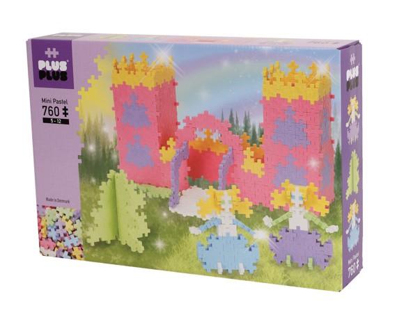 Plus Plus - Mini Pastel - Castle, 760  pc (2-625)