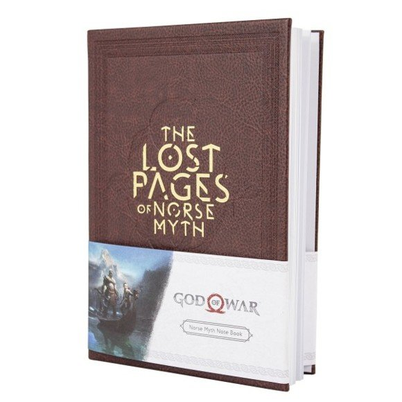 """God of War Notebook """"The Lost Pages Of Norse Myth"""""""