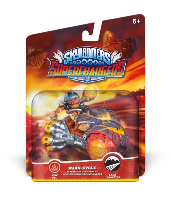 Skylanders SuperChargers - Vehicle - Burn Cycle