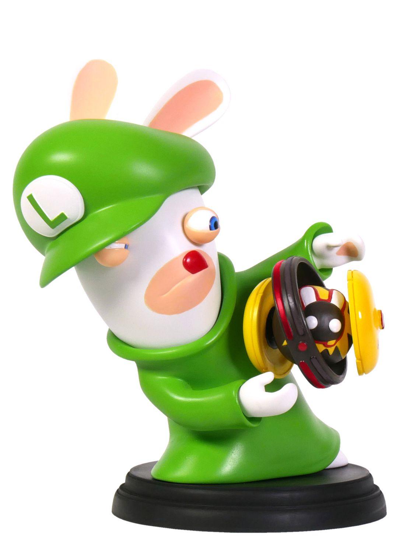 Mario + Rabbids Kingdom Battle 3 Inch Luigi Rabbid Figurine