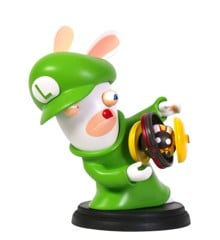 Mario + Rabbids Kingdom Battle 3 Inch Luigi Rabbid Figurine