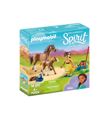 Playmobil - Pru with Horse and Foal (70122)
