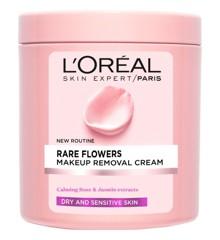 L'Oréal - Rare Flowers Makeup Removal Cream 200 ml