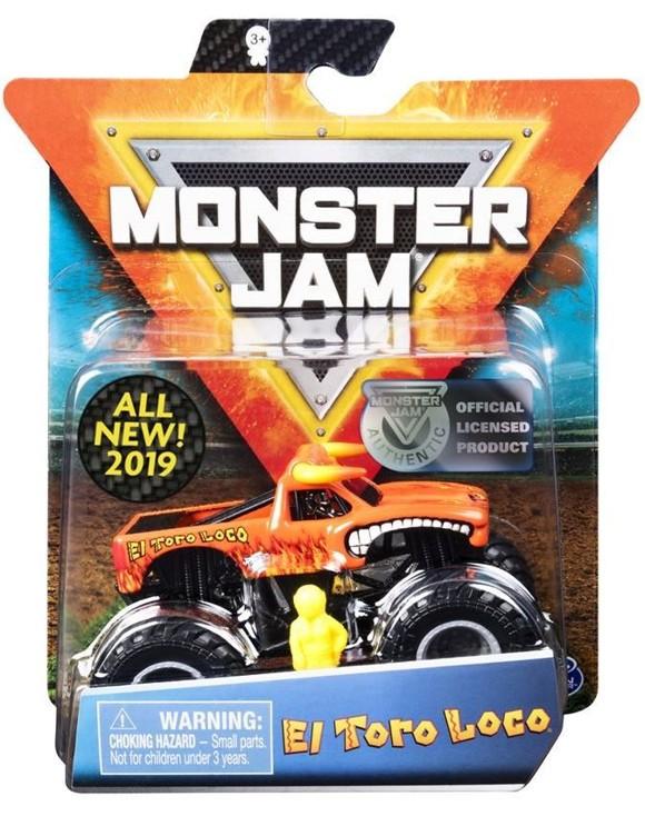 Monster Jam - 1:64 Single Pack - El Toro Loco (20103403)