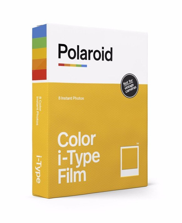 Polaroid - Color i-Type Film For OneStep 2