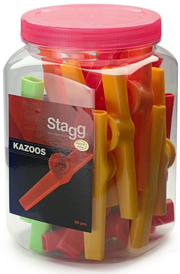 Stagg Plastic Kazoo (Box Of 30)