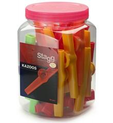 Stagg Plastik Kazoo (30 Stk.)
