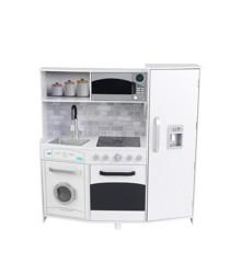 KidKraft - Play Kitchen w/ Lights & Sounds - White (53369)