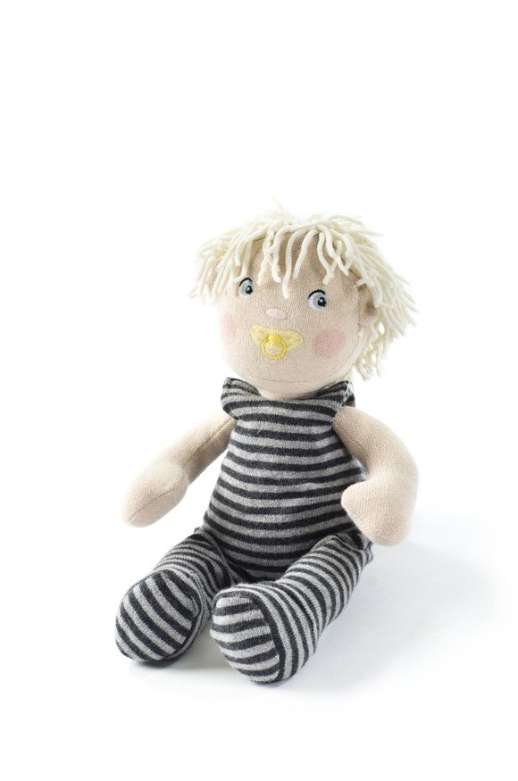 Smallstuff - Knitted Doll 30 cm - Charlie
