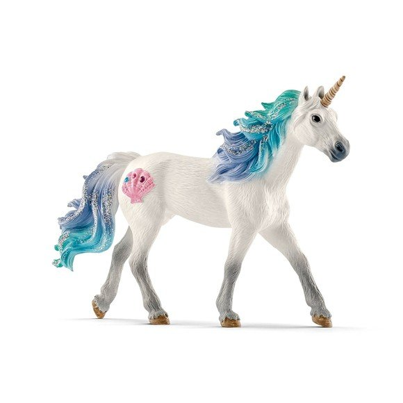 Schleich - Sea Unicorn, Stallion (70571)