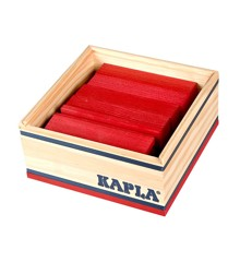 Kapla - Red Blocks - 40 pc