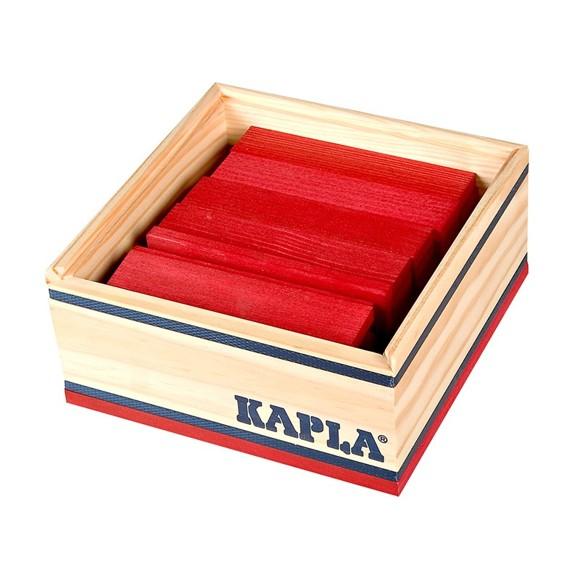 Kapla - Red Blocks - 40 pc