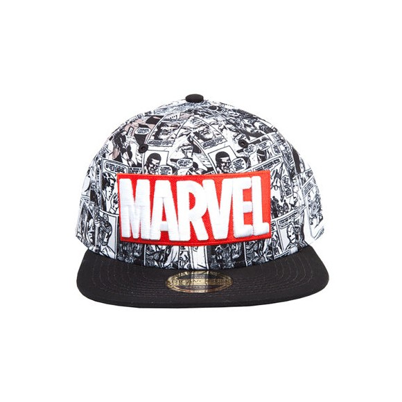 Marvel - Classic Red/White Logo Snapback One-size