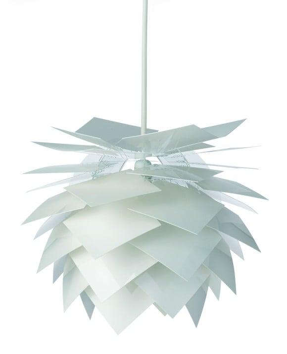 Dyberg-Larsen - Pineapple Lamp Medium - White (6004)