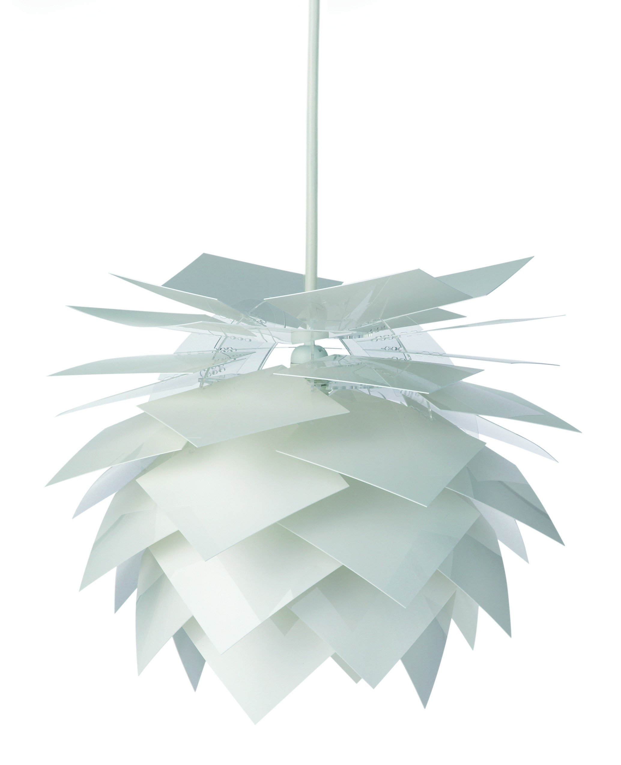 Dyberg-Larsen - Pineapple Lampe - Weiß, mittelgroß