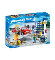 Playmobil- Autoværksted (70202)