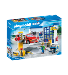 Playmobil- Car Repair Garage