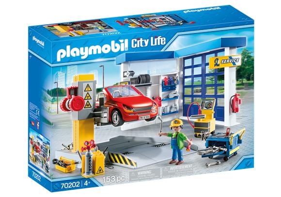 Playmobil- Car Repair Garage