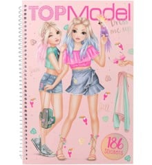 Top Model - Dress Me Up Sticker Book - Tropical (0410576)