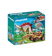 Playmobil - Forskermobil med Stegosaurus (9432)