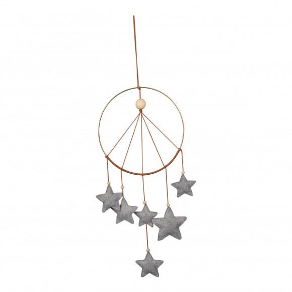 Filibabba - Starry Night Mobile, Grey (FI-SNMG003)