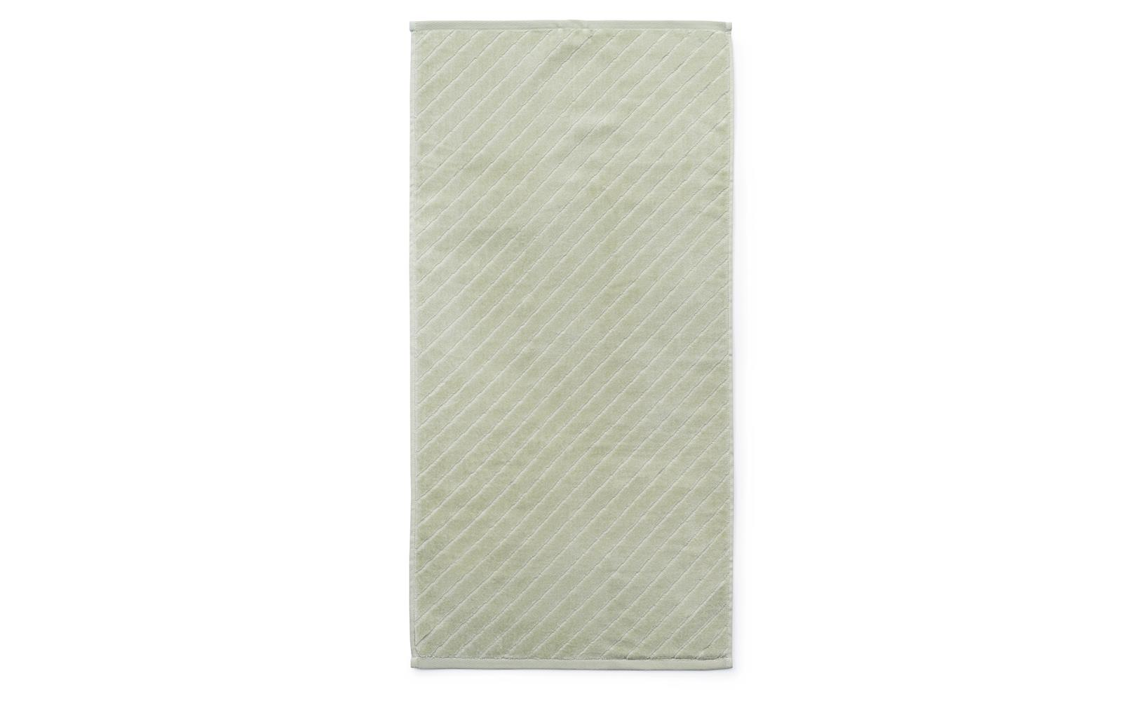 â??Normann Copenhagen - Imprint Håndklæde 140 x 70 cm - Slash Pistacie
