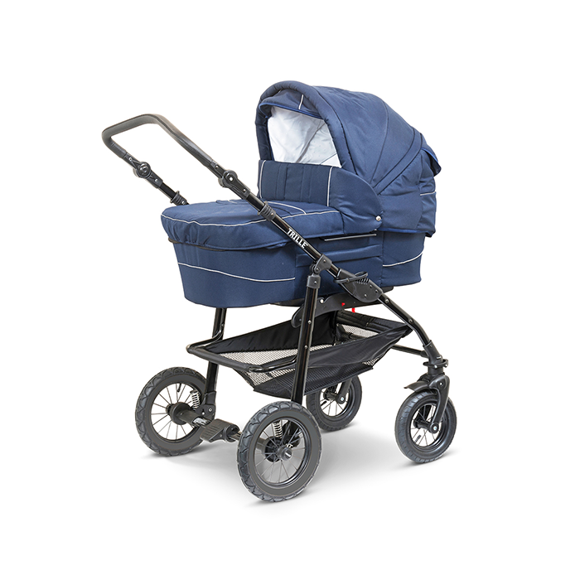 Trille- Hippa Light Pram - Blue Alligator