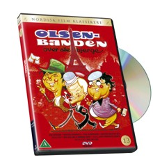 Olsen Banden 13 - Over alle bjerge - DVD