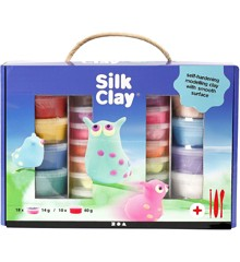 Silk Clay® Set, 1 set, kleuren assorti