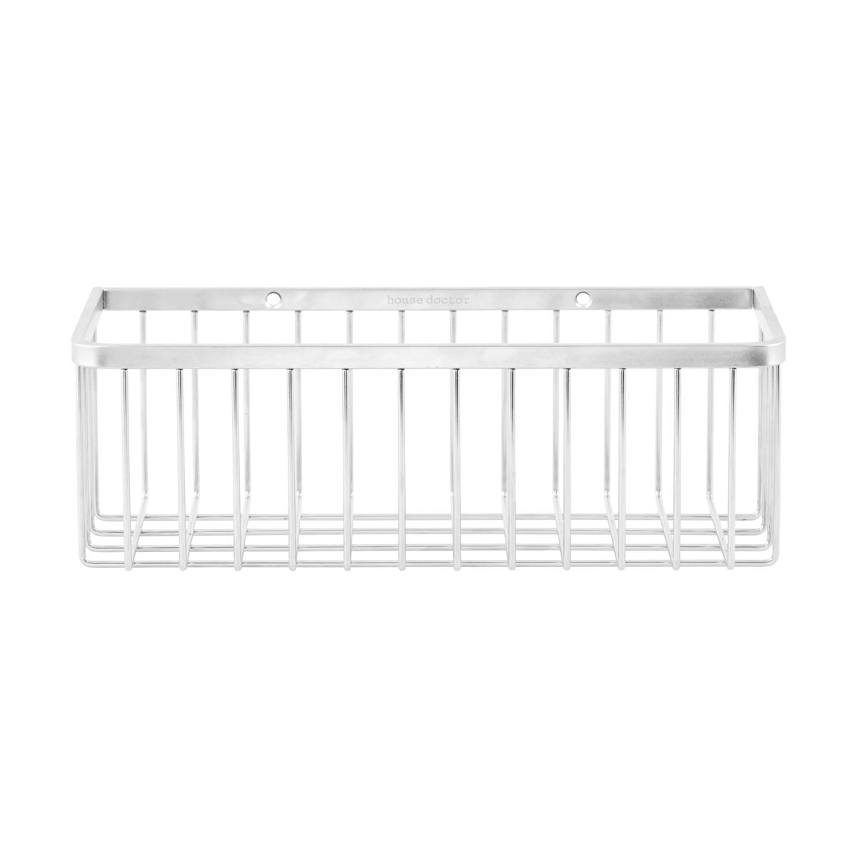 House Doctor - Bath Basket Small - Silver (WG0300)