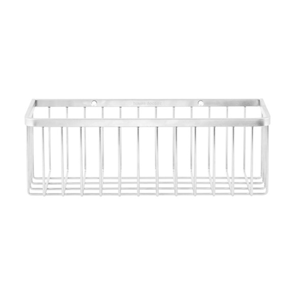 House Doctor - Bath Basket Small - Silver (WG0300)