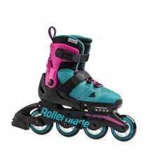 Rollerblade - Microblade - Pink/Emerald Green (Size: 28-32) (07958100S)