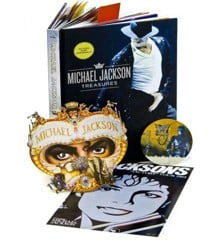 Michael Jackson Treasures – bog