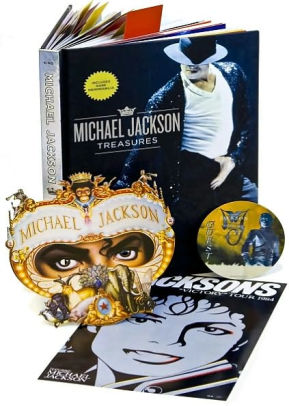 Michael Jackson Treasures – Danish book